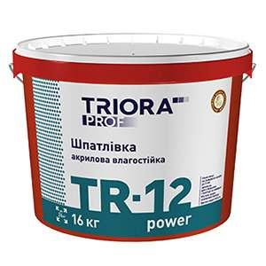 Шпатлевка влагостойкая Triora, 1.5 кг