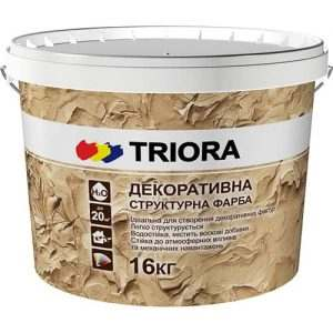 Декоративная структурная краска Triora, 16 кг