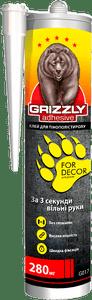 Клей для пенополистирола Grizzly, 280 мл