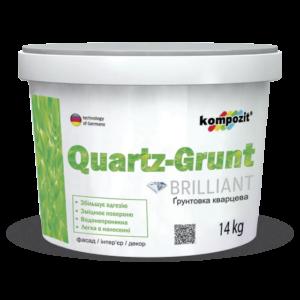 Kompozit Грунтовка адгезионная QUARTZ-GRUNT, 7 кг