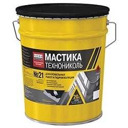 """Мастика Технониколь №21 """"Техномаст"""",  20 кг."""