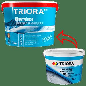 Шпатлевка финишная Triora, 16 кг