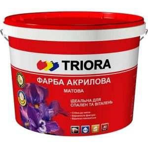 Акриловая краска Triora матовая, 10 л