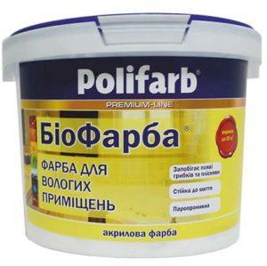 Краска биокраска, Polifarb  4,2 кг