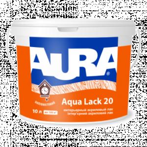 Eskaro Aura Aqua Lack 20, 1 л