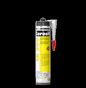 Клей-герметик монтажный Ceresit CB300, на полимере Flextek, 420 гр, серый