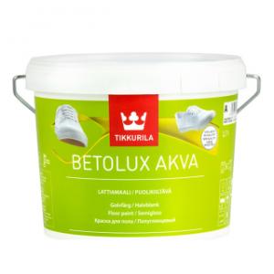 Tikkurila Betolux Akva (Тиккурила Бетолюкс Аква) База A, 2.7 л