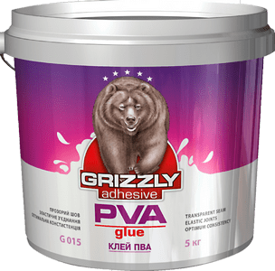 Клей ПВА Grizzly, 2 кг