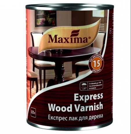 Экспресс лак для дерева Maxima матовый, 0.75 л