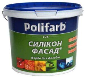 Краска Силикон-фасад Polifarb, 14,0 кг