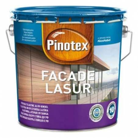 PINOTEX FACADE LASUR БАЗА WHITE, 3 л