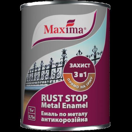 Эмаль 3 в 1 глянцевая Maxima вишневая, 0.75 л
