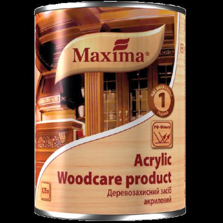 Деревозащитное акриловое средство Maxima красное дерево, 20 л