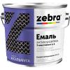Антикоррозионная эмаль 3 в 1 серии Кольчуга Зебра (серебристый), 2 кг