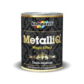 Эмаль акриловая METALLIQ Kompozit жемчуг, 0.9 кг