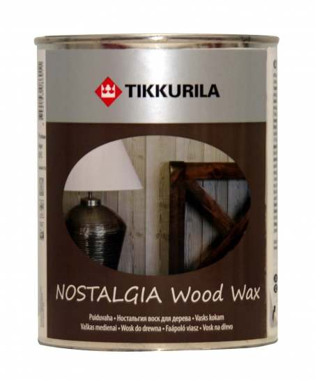 Tikkurila Nostalgia (Тиккурила Ностальгия) Воск для дерева Мед, 0.33 л
