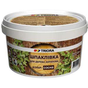 Шпатлевка для дерева Triora, Ольха, 0.4 кг