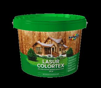 Лазурь для древесины Kompozit COLORTEX белый, 10 л