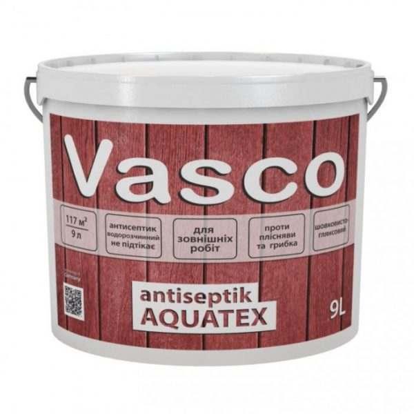 VASCO ANTISEPTIK AQUATEX Тик,  9.0 л