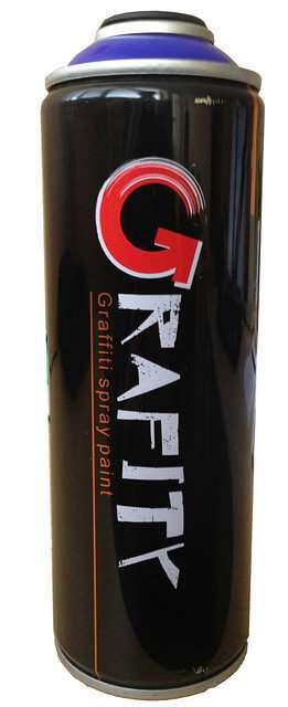 Аэрозольная краска для граффити Graffiti Spray Paint Belife 400 мл, Ярко-красная