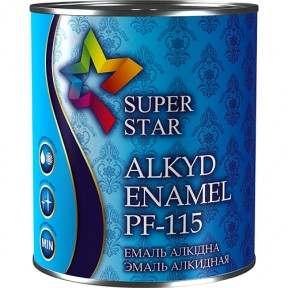 Эмаль ПФ-115 Super Star, светло-серая, 50 кг
