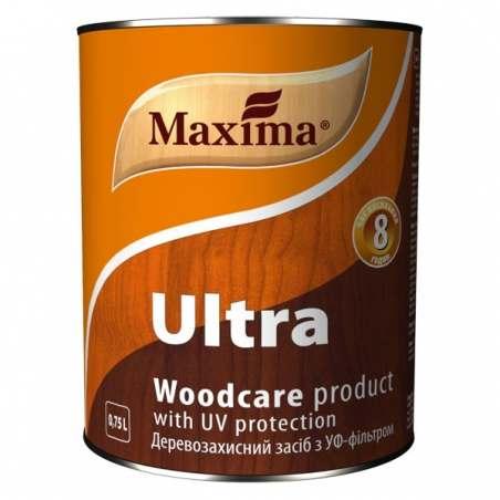 Деревозащитное алкидное средство Maxima тиковое дерево, 0.75 л