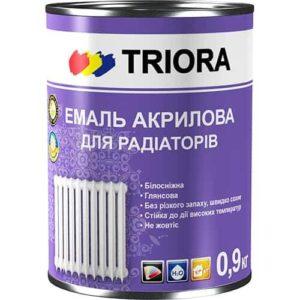 Акриловая эмаль Triora для радиаторов, 2 л
