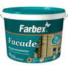 Краска фасадная высококачественная Farbex Facade (база С), 18 кг
