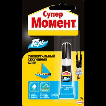 Клей МОМЕНТ СУПЕР, 3 гр