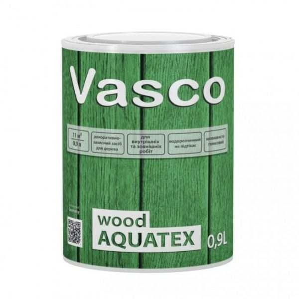VASCO WOOD AQUATEX Дуб,  0.9 л