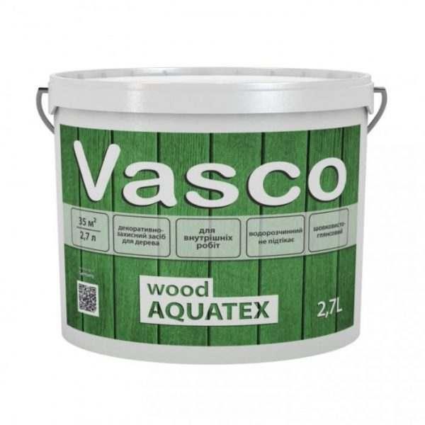 VASCO WOOD AQUATEX Дуб,  2.7 л