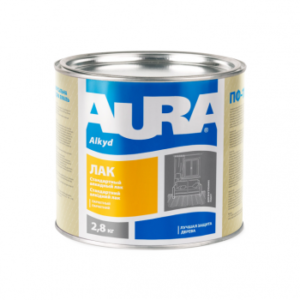 Eskaro Aura ЛАК Паркетный полуматовый, 2.5 кг