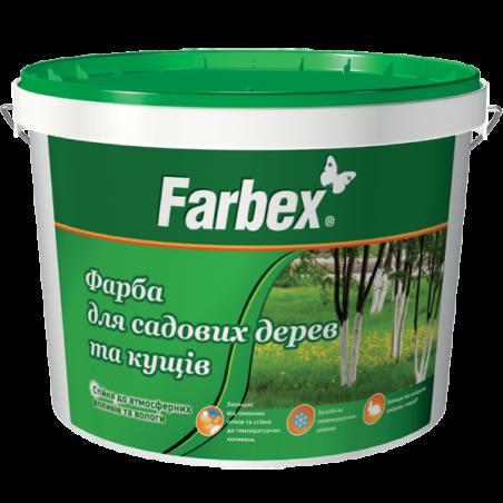 Краска для садовых деревьев и кустов Farbex, 14 кг