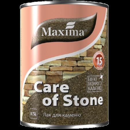 Акриловый лак для камня Maxima полуматовый, 0.75 л