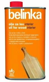 Масло для древесины, соприкасающейся с продуктами питания Belinka, 0.5 л