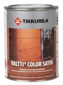 Tikkurila Valtti Color Satin (Тиккурила Валтти Колор Сатин) Антисептик, 9 л