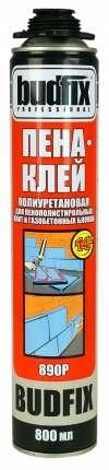 Профессиональная клей пена Budfix 890 P, 800 мл