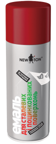 Эмаль специализированная в аэрозольном баллоне для оцинковки NEW TON 400 мл, зеленая листва