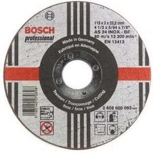 Отрезной круг Bosch Inox 180×2 мм, 2608600095