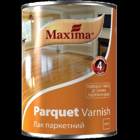 Алкидно-уретановый паркетный лак Maxima полуматовый, 0.75 л