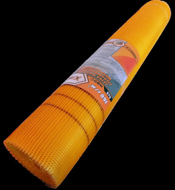 X-TREME 10003 Сетка стеклотканевая фасадная 160г/м2 оранжевая