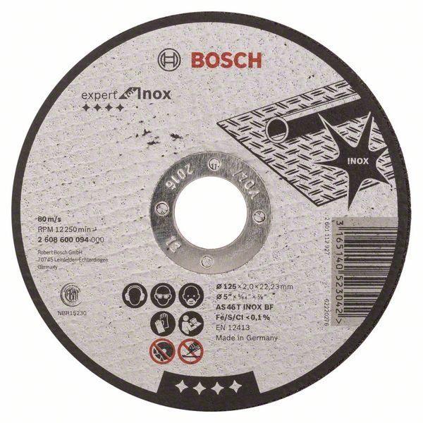 Отрезной круг Bosch камень 180х3 мм, 2608600323