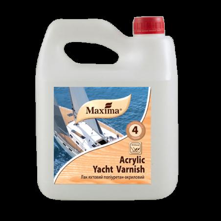 Акриловый яхтный лак Maxima глянцевый, 2.5 л