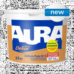 Eskaro Aura Dekor Silikon Putz K15 (струк. штукатурка 1,5мм), 25кг