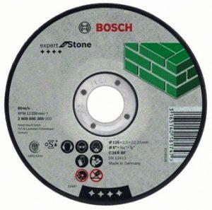 Отрезной круг Bosch камень 115х2.5 мм, 2608600320