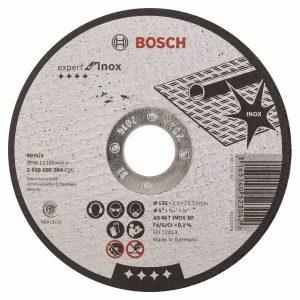 Отрезной круг Bosch металл 150х2.5 мм, 2608600382