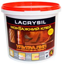 Клей строительный для напольных покрытий Ультра Лип LACRYSIL,  1 кг