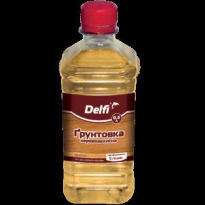 Грунтовка деревозащитная Delfi, 0.5 л