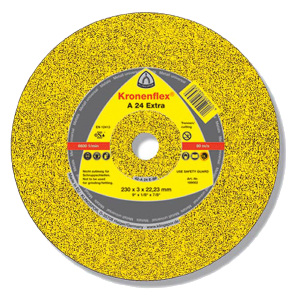 Круг отрезной по металлу Kronenflex A24 Extra 150*2,5*22