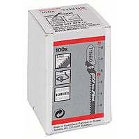 Пилки лобзиковые Bosch 100 шт T 119 ВO, HCS